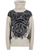 Joseph Tiger Knit Sweater - Lyst