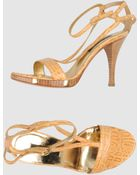 Sergio Rossi High Heeled Sandals - Lyst