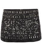 AllSaints Devo Skirt - Lyst
