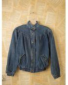 Free People Vintage Denim Jacket - Lyst