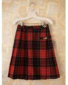 Free People Vintage Plaid Skirt - Lyst