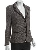 Lafayette 148 New York Blaine Tweed Jacket - Lyst
