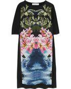 Stella McCartney Hawaiian-print Silk Dress - Lyst