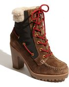 Sperry Top-Sider Shearling Trinity Boot - Lyst