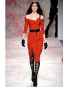 Prabal Gurung Asymmetrical Overlap Dress - Lyst