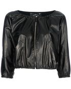 Gucci Cropped Jacket - Lyst