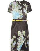 Preen By Thornton Bregazzi Akiko Printed Silk Dress - Lyst
