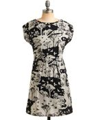 ModCloth Fly By Day and Night Dress - Lyst
