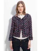 Kate Spade Darby Tweed Jacket - Lyst