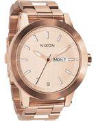 Nixon The Spur Bracelet Watch - Lyst