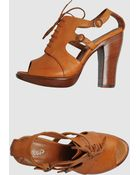 Rocco P  High-heeled Sandals - Lyst