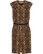 Giambattista Valli Leopard-print Cotton Dress - Lyst
