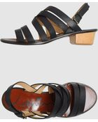 Lanvin Low-heeled Sandals - Lyst