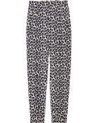 3.1 Phillip Lim Leopard-print Silk Crepe De Chine Pants - Lyst