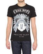 Philipp Plein Bad Boy Swarovski Jersey T-shirt - Lyst