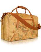 Alviero Martini 1a Classe 1A Prima Classe - Double Compartment Zip Travel Bag - Lyst