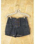 Free People Vintage High-waisted Shorts - Lyst