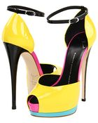 Giuseppe Zanotti Platform Sandals - Lyst