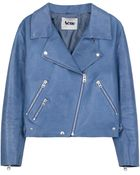 Acne Studios Rita Leather Biker Jacket - Lyst