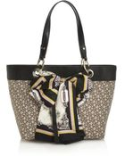 DKNY Town and Country Scarf Tote - Lyst
