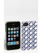 Diane von Furstenberg Saffiano Printed Iphone 4 4s Case - Lyst