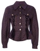 Jean Paul Gaultier Laced Jacket - Lyst