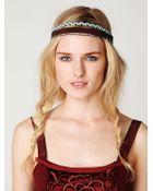 Free People Eden Braided Headband - Lyst