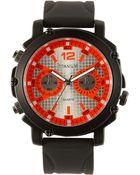 Titanium Neon Marker Analog Watch - Lyst