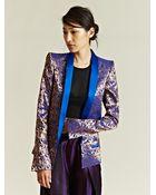 Haider Ackermann Womens Morrison Taroni Jacket - Lyst