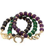 Belle Noel Set Of Three Bracelets - Lyst