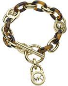 Michael Kors Toggle Link Bracelet - Lyst