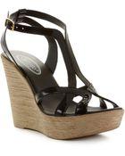 Callisto Monaco Wedge Sandals - Lyst