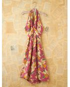 Free People Vintage Floral Printed Halter Dress - Lyst
