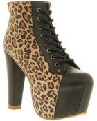 Jeffrey Campbell Lita Platform Ankle Boot  - Lyst