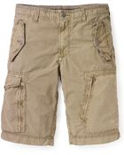 Converse Black Canvas Emmett Cargo Shorts - Lyst