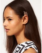 Asos Asos Winged Ear Cuff - Lyst