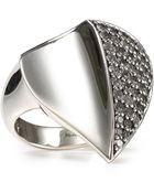 Elizabeth And James  Sapphire Large Thorn Ring - Lyst