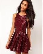 TFNC Tfnc Sequin Prom Dress - Lyst