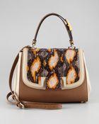 Fendi Silvana Flaptop Bag - Lyst
