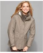 The North Face Kalispell Zip Front Hooded Parka - Lyst