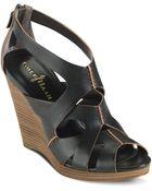 Cole Haan Air Kimrey Wedge Sandals - Lyst