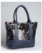 Deux Lux Midnight Sequined Felix Tote - Lyst