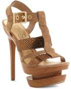 Jessica Simpson Cathy Platform Sandals - Lyst
