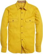 French Connection Timber Twill Shirt - Lyst