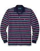 Brooks Brothers St Andrews Links Oxford Stripe Pique Polo - Lyst