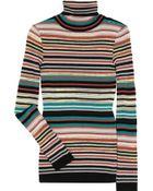 M Missoni Striped Midweight Knit Sweater - Lyst