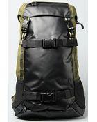 Nixon The Landlock Backpack in Army Stripe - Lyst