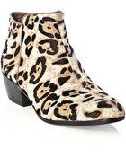 Sam Edelman Petty Leopardprint Boots - Lyst