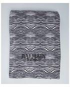 Balmain Zebra Print Cotton Terry Beach Towel - Lyst