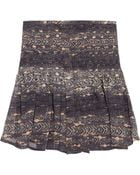 Isabel Marant Printed Silk Georgette Mini Skirt - Lyst